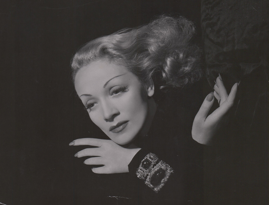 Marlene Dietrich Photographed by C.S. Bull