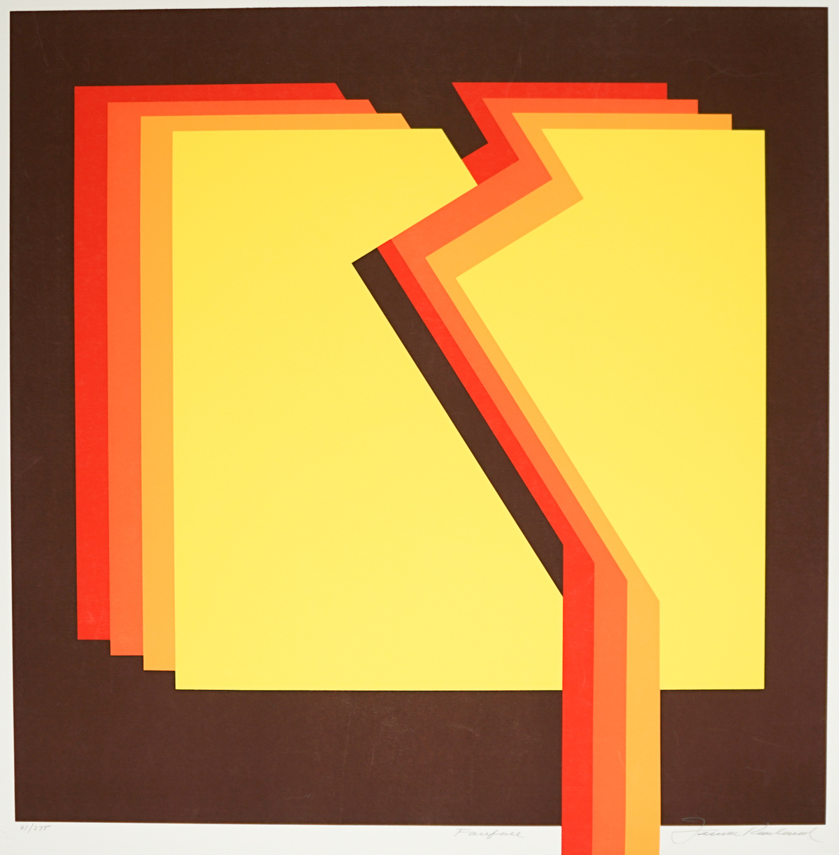 Frank Rowland Serigraph [Abstract]