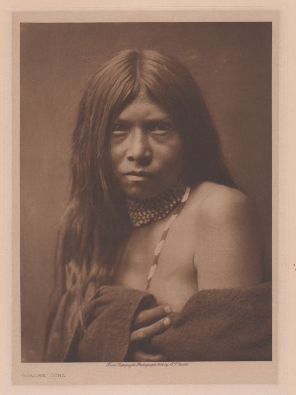Edward Curtis Photogravure on Gampi Paper