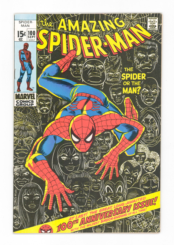 The Amazing Spider-Man Comic No.100