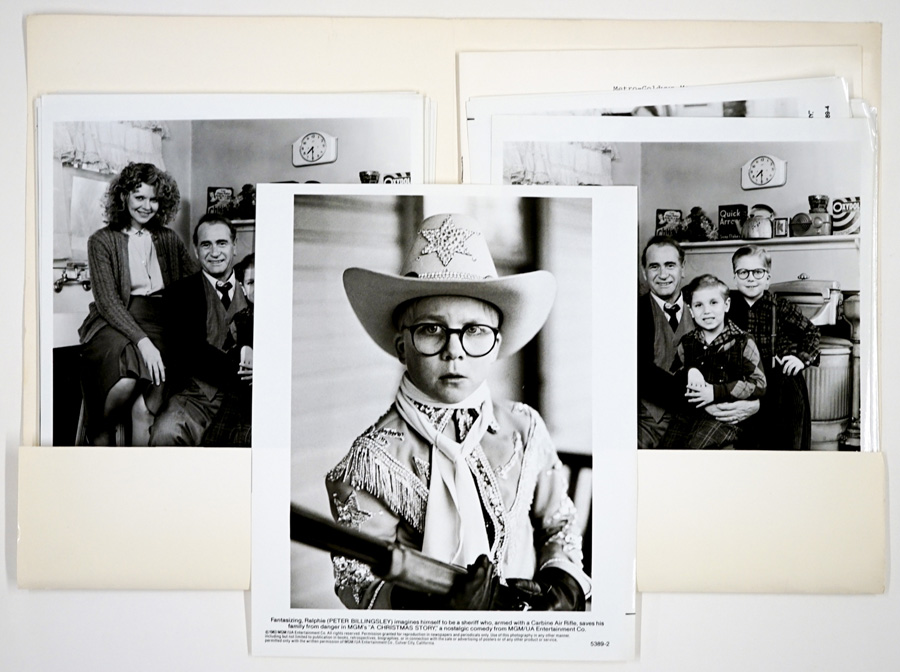 A Christmas Story (1985) Press Kit with 24 Photos