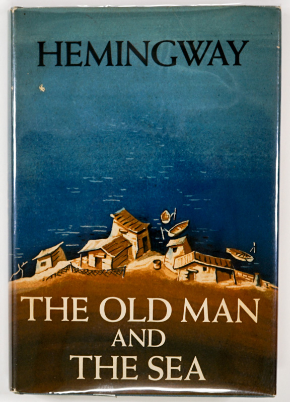 Old Man and the Sea by Hemingway 1952 1ST