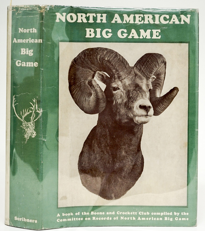 American Big Game 1939 Boone and Crockett SIGNED