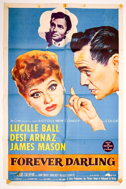 Lucille Ball in Forever Darling 1 Sheet Poster