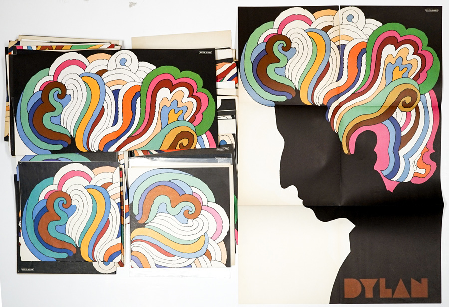 Milton Glaser Authentic Bob Dylan Posters (92)