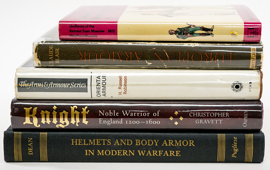 Body Armor and Uniforms (5) Books