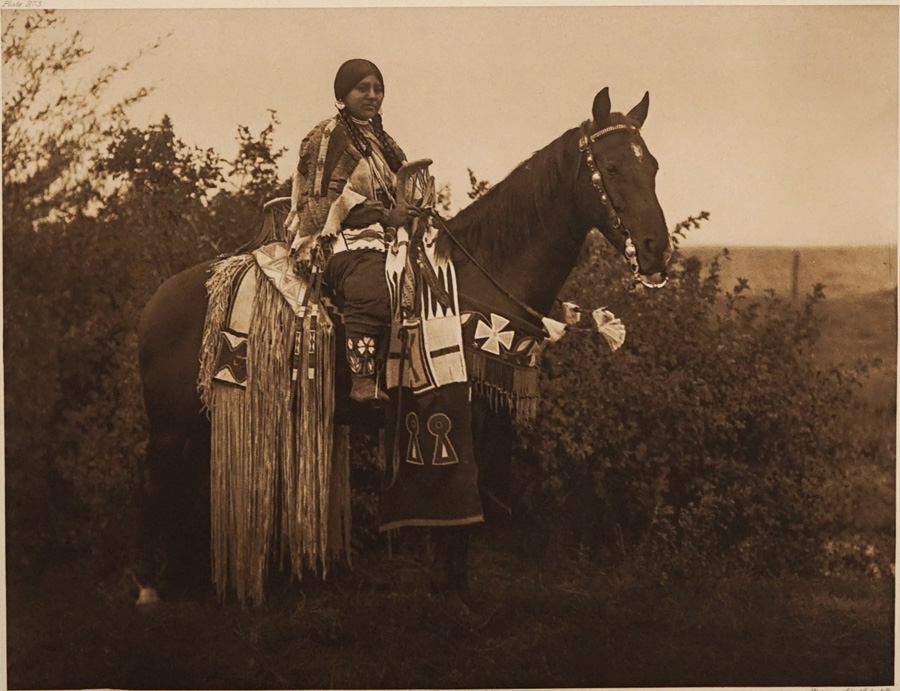 Edward Curtis Photogravure [Holiday Trappings]