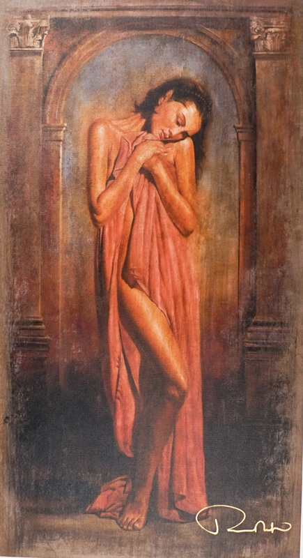 Tomasz Rut Giclee on Canvas #166/350 [Woman]
